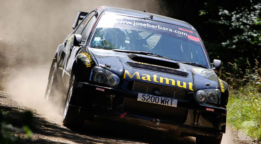 Photo vidéo sport auto, moto, Rallye Terre de Langres, Subaru à l'attaque