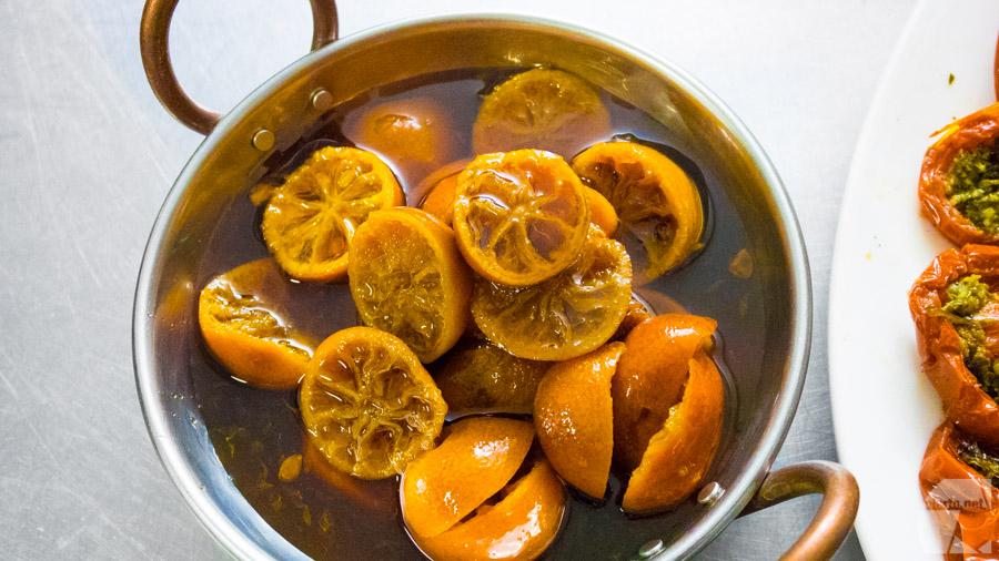 L'une des succulentes recettes filmée pour A vos Régions : citrons corse confits.